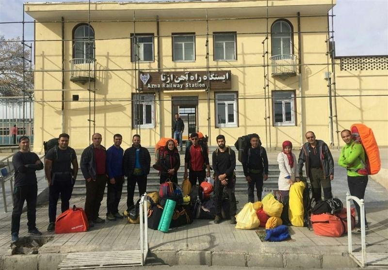 مراسم وداع با کوهنوردان خراسانی در استادیوم تختی مشهد برگزار میشود