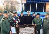"""تقدیر ستاد کل نیروهای مسلح از """"علیرضا کریمی"""" + عکس"""