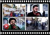 سوریه/زینبیه /اعتراض مردم به تصمیم ترلامپ برای قدس/ کنار خبر