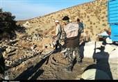 2 گروه جهادی از آزادشهر و مینودشت به مناطق زلزلهزده کرمانشاه اعزام شدند