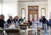تصاویر دیدار وزیر خارجه انگلیس با ظریف