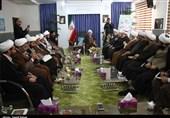 دیدار علمای لبنانی با نماینده ولی فقیه در خراسان شمالی
