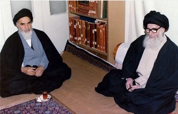 نتیجه تصویری برای نت الله گلپایگانی امام خمینی