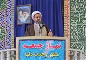 امام جمعه کرمان: کسانی که با سخن خود موجب خوشنودی دشمن شوند از قطار انقلاب پیاده شدند