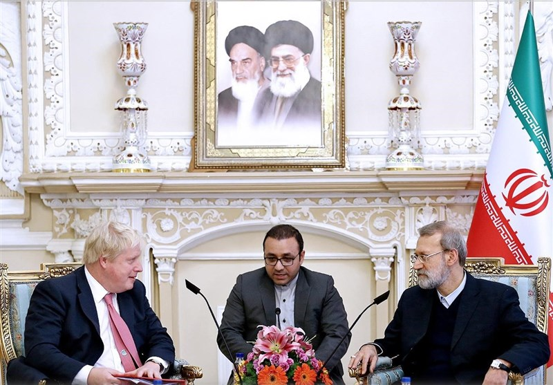 Larijani Criticizes Britain's Lack of Action to Boost Ties with Iran after JCPOA