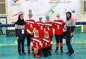 تیم گلبال دختران ایران از سد تایلند گذشت