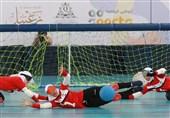 شکست تیم گلبال دختران ایران برابر چین