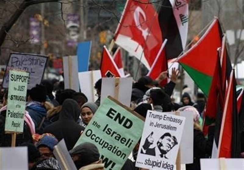 1000s Rally in Canada against Trump's Quds Decision (+Photos)