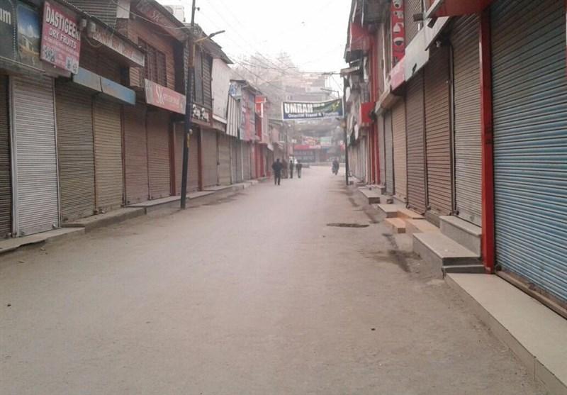 مقبوضہ کشمیر؛ مسلم آبادی کو اقلیت میں بدلنے کی بھارتی سازش کیخلاف دوسرے روز بھی ہڑتال