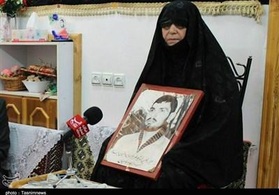 مادر شهید غواص گیلانی