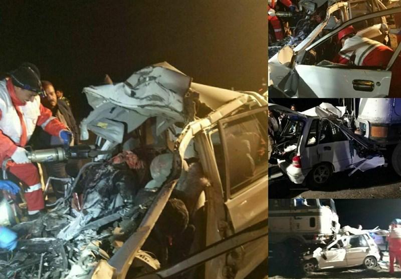188 نفر در تصادفات جادهای در گلستان جان خود را از دست دادند