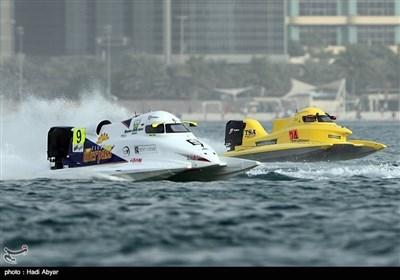 ابوظہبی میں جیٹ کشتی F1H20 کے مقابلے