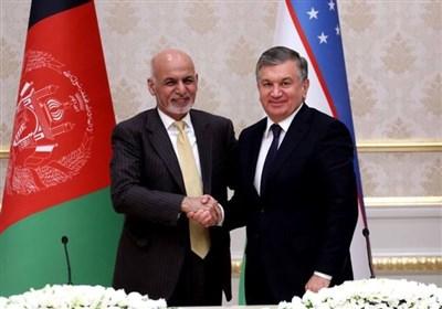 اشرف غنی ازبکستان
