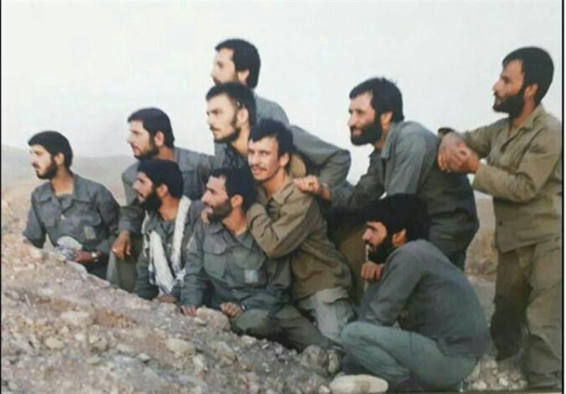 تصاویر دیده نشده از سردار همدانی و علمداران قراویز