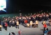 رژه کاروان ایران در بازیهای پاراآسیایی جوانان