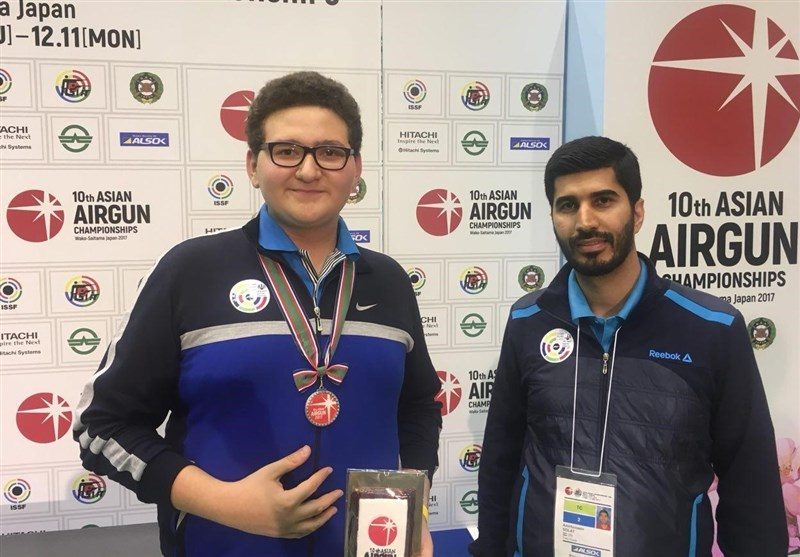 Iranian Shooter Salavati Claims Youth Olympics Games Spot