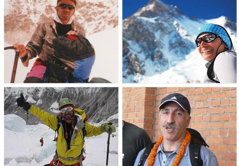 این کوهنوردان ایرانی در کوهستان جان باختهاند + عکس