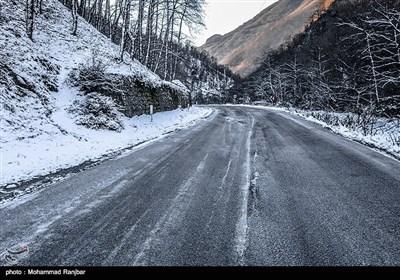 طبیعت برفی ماسوله