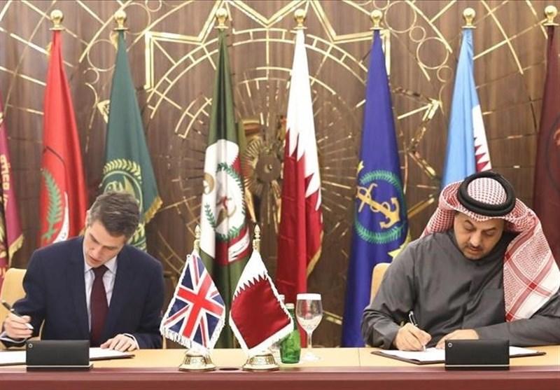 قرارداد 6.7 میلیارد دلاری قطر و بریتانیا برای جنگندههای تایفون