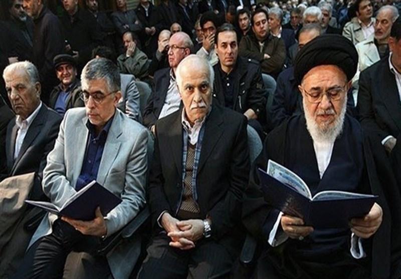 چرخش ادامهدار مجمع روحانیون / موسوی خوئینیها با طلاب بسیجی تهران دیدار کرد!