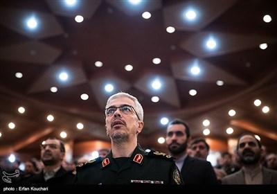 سرلشکر محمد باقری رئیس ستادکل نیروهای مسلح در همایش قدرت های بزرگ و امنیت منطقه غرب آسیا