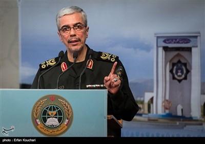 سخنرانی سرلشکر محمد باقری رئیس ستادکل نیروهای مسلح در همایش قدرت های بزرگ و امنیت منطقه غرب آسیا