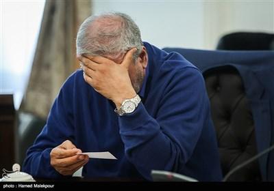 علی ربیعی وزیر تعاون، کار و رفاه اجتماعی در جلسه ستاد فرماندهی اقتصاد مقاومتی
