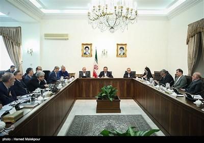 جلسه ستاد فرماندهی اقتصاد مقاومتی به ریاست اسحاق جهانگیری معاون اول رئیس جمهور