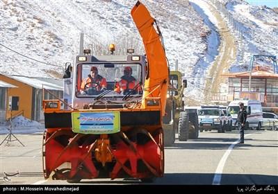 رزمایش ترافیکی طرح زمستانی 96