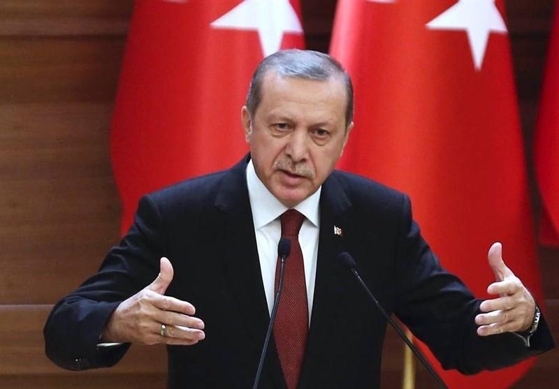 اردوغان: اقدام آمریکا برای استقرار نیرو در مرزهای سوریه، غیرقابل قبول است