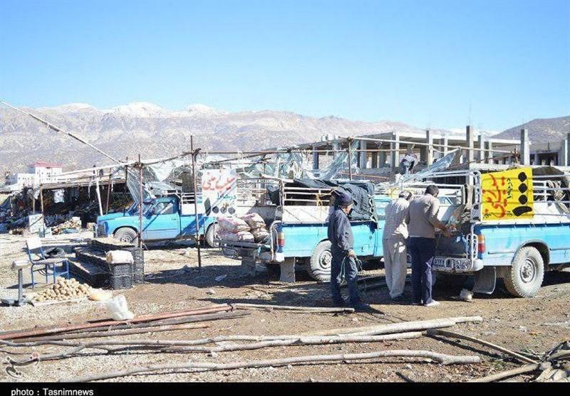 یاسوج|حکایت وانت بارهای میوه فروش در پایتخت طبیعت ایران تمامی ندارد