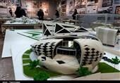 برگزاری نمایشگاه ماکتهای معماری در رشت + فیلم