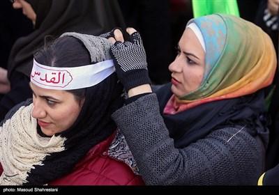 اجتماع جوانان مدافع حریم قدس شریف