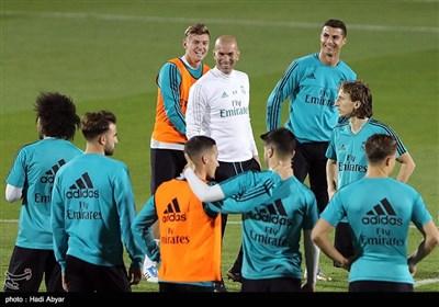اولین تمرین تیم رئال مادرید اسپانیا در جام باشگاه های جهان 2017 ابوظبی