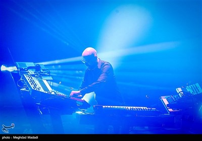German Electronic Schiller Band Gives Pop Concert in Iran