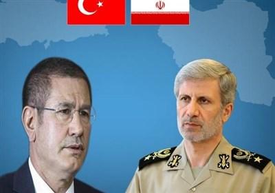 امیر حاتمی و وزیر دفاع ترکیه