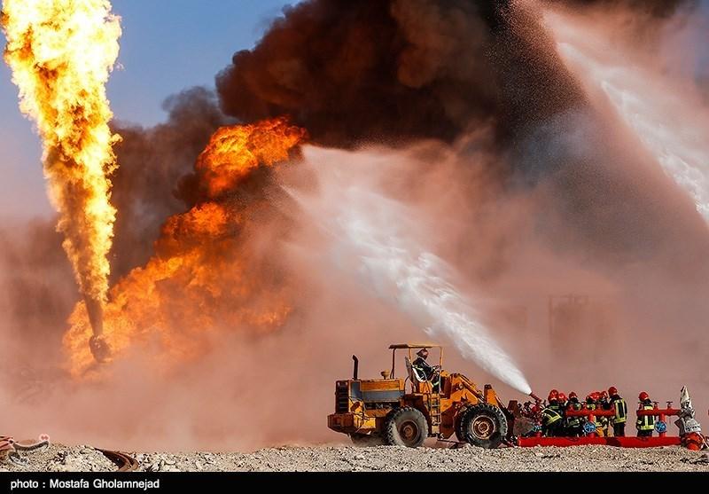 Minister Hails Success to Extinguish Iran's Oilfield Inferno