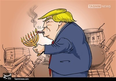 کاریکاتیر.. صب الزیت علی النار