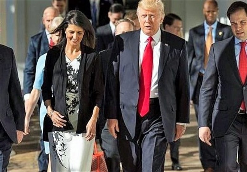 Haley Rejects 'Disgusting' Rumor about Having Affair with Trump