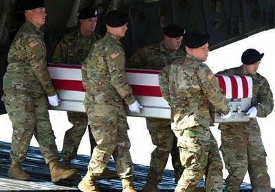 نظامی آمریکایی کشته