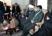 دیدار استاندار تهران با خانواده شهید