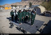 IRGC Accomplishes Mission to Accommodate Quake-Hit Villagers in Western Iran