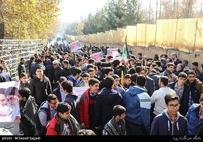 Iranian Students Protest US Quds Decision