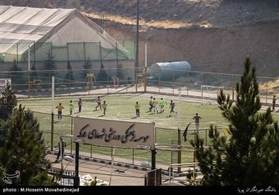 زمین فوتبال مجموعه ورزشی شهدای درکه