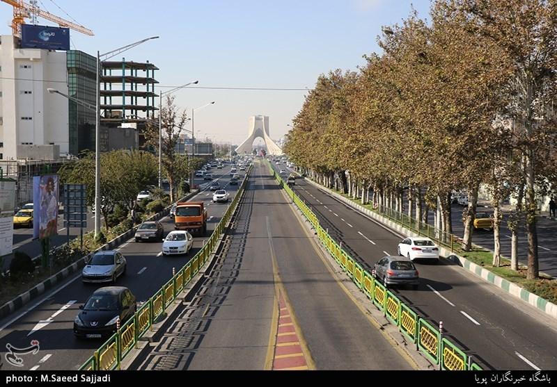 محدودیت تردد در مسیرهای راهپیمایی 22 بهمن برداشته شد