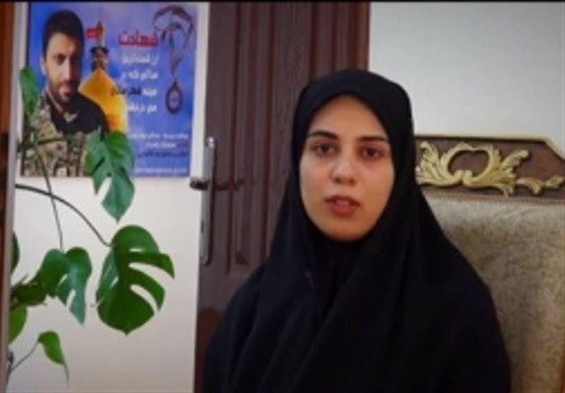 همسر شهید مرتضی حسین پور