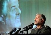 سرلشکر محمد علی جعفری فرمانده کل سپاه پاسداران انقلاب اسلامی