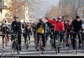 همایش دوچرخه سواری در شهر آچاچی