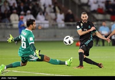دیدار تیم های فوتبال رئال مادرید و الجزیره امارات
