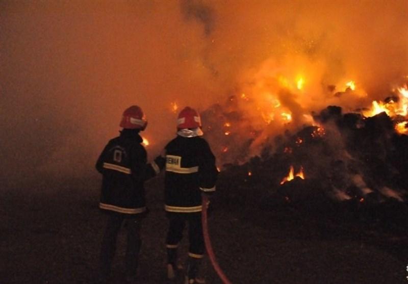 دلیل آتش سوزی در متانول کاوه اعلام شد